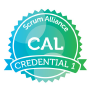 Certified Agile Leadership (CAL) credential issued by Scrum Alliance
